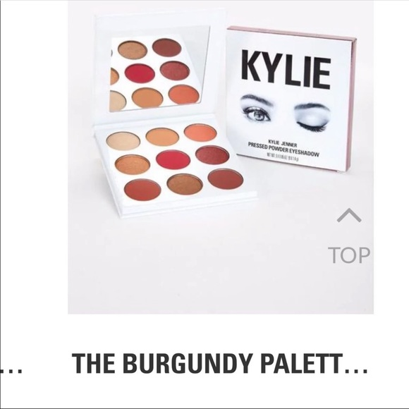 Kylie Cosmetics Other - New! Kylie burgandy palette.